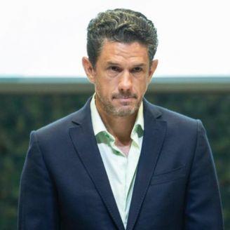 Alejandro Irarragorri, durante una conferencia de prensa