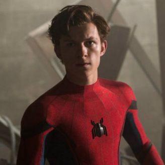 Tom Holland interprentado a Spider Man