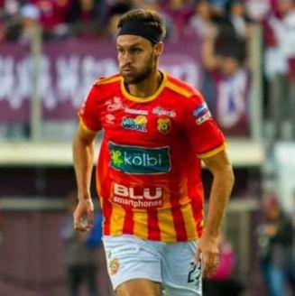 Lugo, durante un partido del Herediano