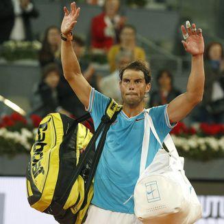 Rafael Nadal agradece al público de Madrid por el apoyo