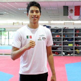 Carlos Sansores, taekwondoín mexicano