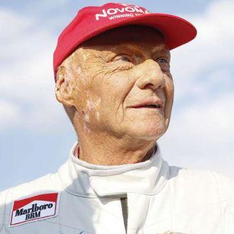 Niki Lauda, durante una competencia