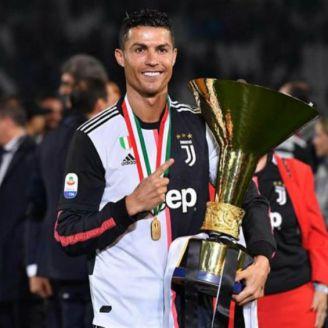 Cristiano festeja título de Juventus