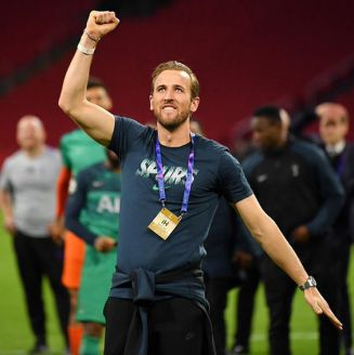 Harry Kane celebra pase del Tottenham a la Final de Champions League