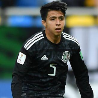 Cárdenas, durante el partido contra Italia