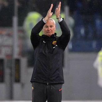Claudio Ranieri agradece a su afición por el homenaje en el Stadio Olímpico