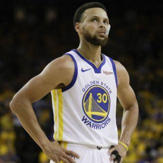 Curry, durante el partido contra Raptors
