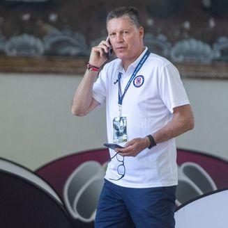 Ricardo Peláez en la Semana del Futbol en Cancún