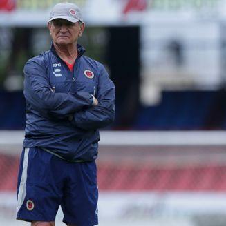Enrique Meza, en entrenamiento de Veracruz