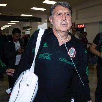 Martino, en su llegada a la CDMX