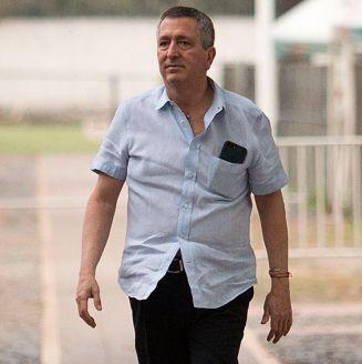 Jorge Vergara en las instalaciones de Verde Valle