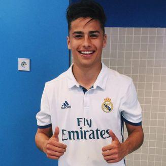 Paolo Medina, previo a un duelo con el Real Madrid