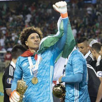 Ochoa celebra triunfo en Copa Oro