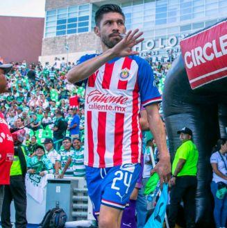 Oribe Peralta previo a un partido contra Santos