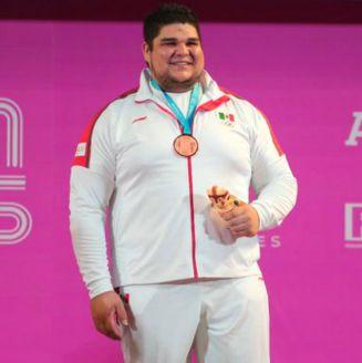 Raúl Manríquez presume su Bronce en Lima 2019