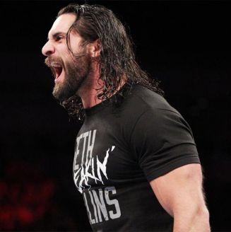 Seth Rollins, durante un evento de WWE