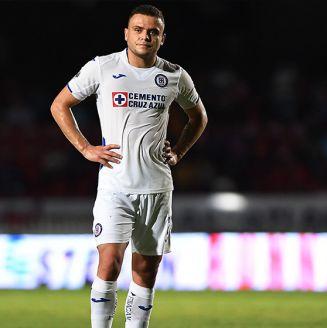 Jonathan Rodríguez, desilusionado en juego contra Veracruz