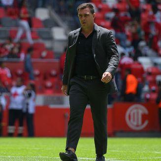 Pablo Guede, en la bombonera