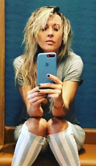Fey compartió una serie de fotografías sensuales