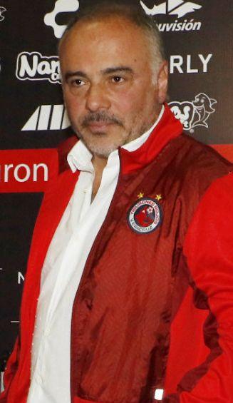 Guillermo Vázquez en la presentación como DT de Veracruz