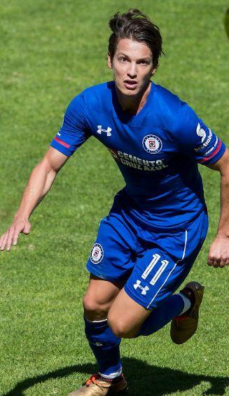 Carlos Fierro durante el partido contra Toluca