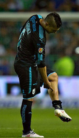 Javier Güemez señala lesión tras ser expulsado del Nou Camp