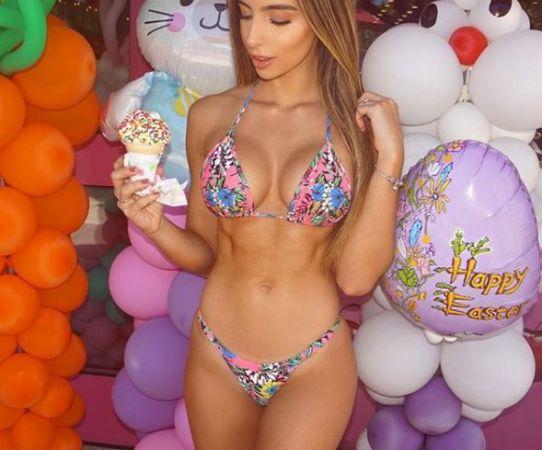 Ella es la hermosa Bruna Rangel Lima