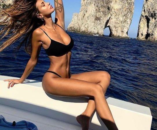 Ella es la hermosa Cristina Buccino