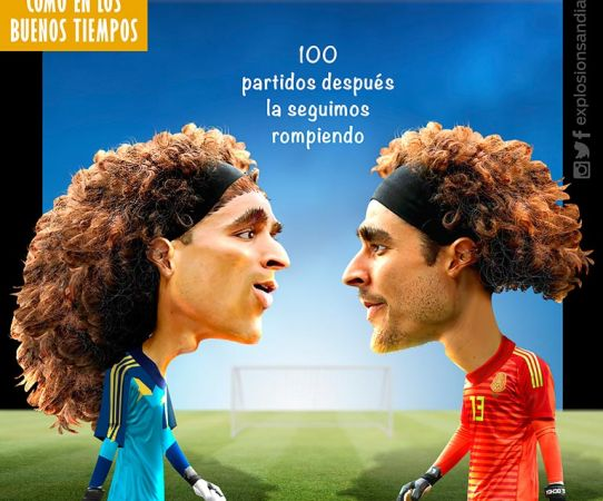 Memo cumplirá 100 juegos este viernes contra Argentina