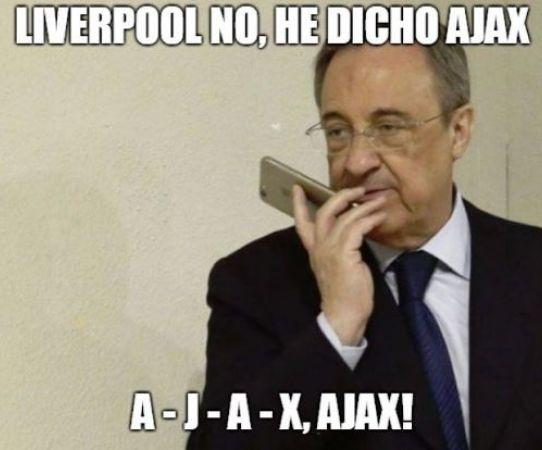 Memes celebran los duelos de Octavos de Final de Champions League