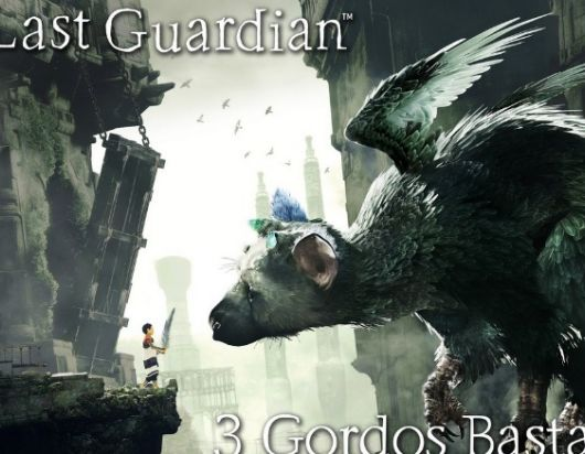 Poster del videojuego The Last Guardian