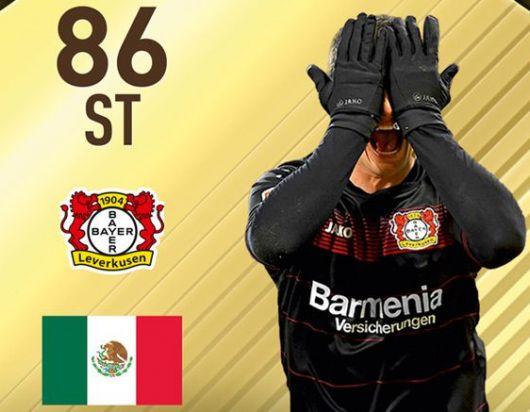 Chicharito es la figura del Ultimate Team en la semana 23