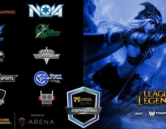Estos son los equipos que compiten en la categoría Master de League of Legends