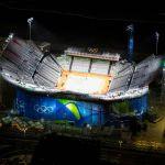 Las arenas de Copacabana son el escenario de los torneos de duplas masculinas y femeninas de voleibol de playa