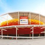 Construido para los Juegos de Rio 2016, el Centro Olímpico de Tenis cuenta con 16 canchas