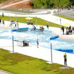 El Estadio de Canotaje Slalom cuenta con 25 millones de litros de agua, divididos en dos canales