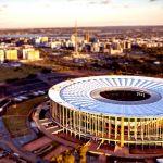 El Estadio Mané Garrincha será la sede del algunos partidos de futbol