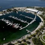 Marina da Glória está localizada en la Bahía de Guanabara