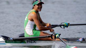 Kenia Lechuga sonríe tras lograr primer lugar en eliminatoria