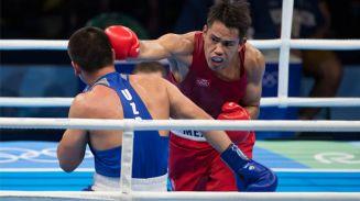 El boxeador Misael Rodríguez se bañó en bronce de Río 2016 tras perder por decisión unánime