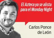 Columna Carlos Ponce de León 8 de febrero de 2016
