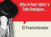 El Atlas ya preguntó por Toño Rodríguez... - Francotirador