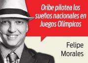 FELIPE MORALES Oribe y su gran tarjeta de despedida rumbo a JO