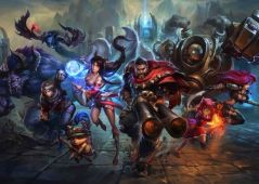 Algunos de los personajes de League of Legends
