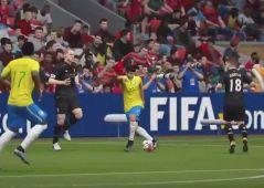 El gol que marca UL1BARRI con Coutinho de 'rabona'