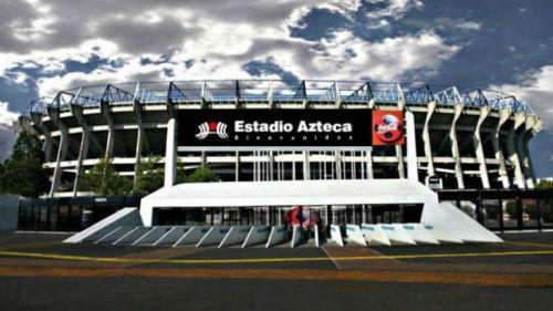 Vista exterior del Estadio Azteca