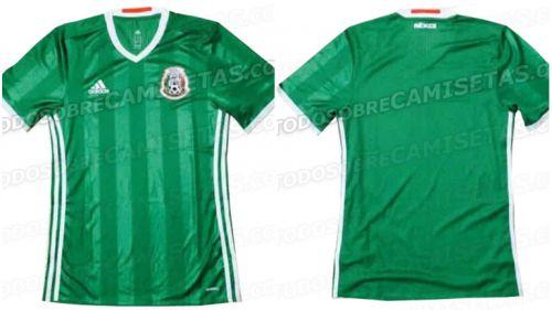 d12896c66d5b3 Así luciría la próxima camiseta de la Selección Mexicana