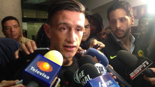 Brian Lozano responde a los medios tras arribar a México