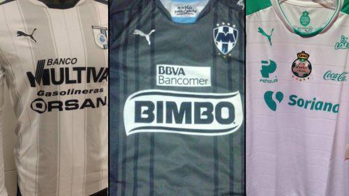 Así lucirían los terceros uniformes de la Liga MX bc4e3c8e03515