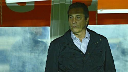 Tomás Boy, durante un partido de Cruz Azul